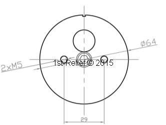 Peters&Bey LED Navigationslicht / Laterne 580 - Dreifarbenlicht rot-wei