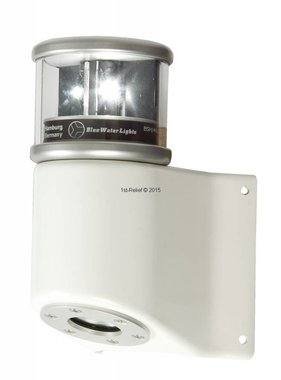 Peters&Bey LED Navigationlight / Lantern 580 - Masthead light white incl. Mastbracket (all white)