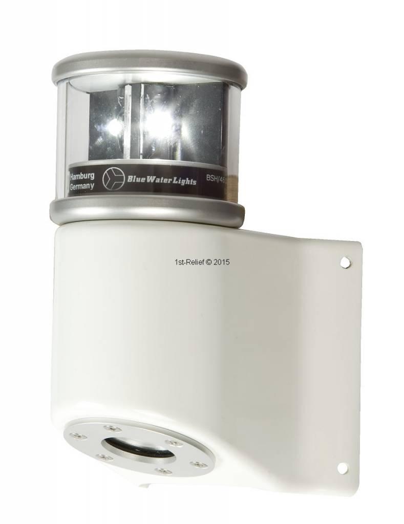 Peters&Bey LED Navigationslicht / Laterne 580 - Topplicht weiß inkl. Masthalterung in weiß