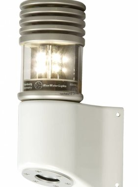 Peters&Bey LED Navigationslicht / Laterne 580 - Topplicht weiß 5 NM inkl. Masthalterung in weiß