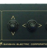 "Sanshin 7"" Xenon Robo Zoeklicht (24 VDC / 150 W) with lamp, control panel CPF196 and 2 m cable"