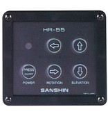 """Sanshin 4,5"""" Halo Cabin Scheinwerfer (12 VDC / 55 W) with lamp, control panel CPF79 and 1 m cable"""