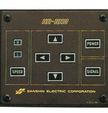 """Sanshin 7x3"""" Halo Cabin Zoeklicht (24 VDC / 110 W) with lamp, control panel CPF53 and 5 m cable"""