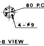 """Sanshin 19 """"Cabine Halogeen Zoeklicht (230 VAC / 2000 W)"""