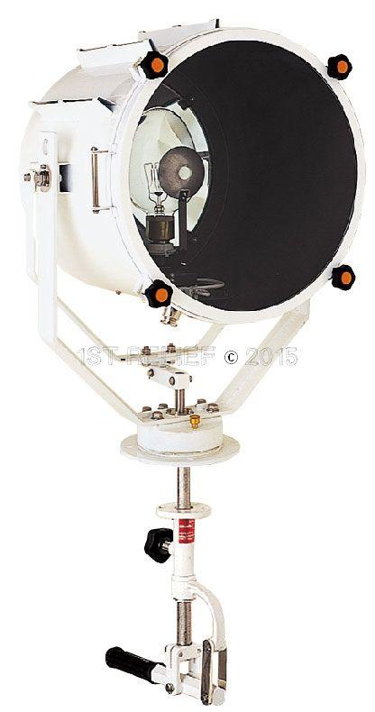 """Sanshin 19"""" Cabin Halo-Searchlight (230 VAC / 2000 W)"""