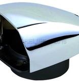 "Perko Chrome Plated Zinc Cowl Ventilator - 3"" Duct Threads"