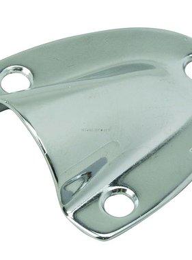 "Perko Stainless Steel Clamshell Ventilator - 1 - 5/8"" X 1 - 1/2"""