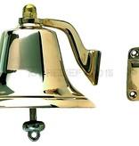 "Perko 6"" Fog Bell - Polished Bronze"