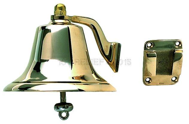 "Perko 8"" Schiffsglocke - polierte Bronze"