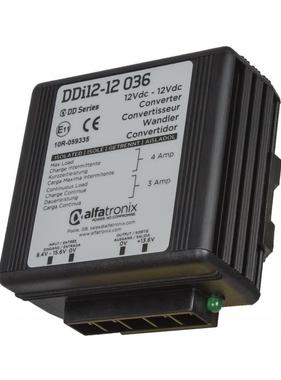 Alfatronix 12-24 VDC Power Stabilizer isolated