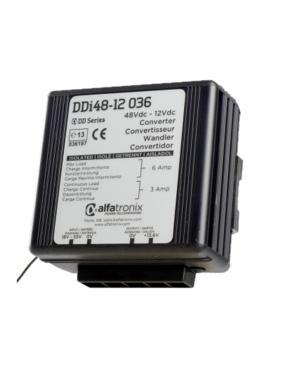 Alfatronix 48 VDC to 12 VDC Power Converter isolated