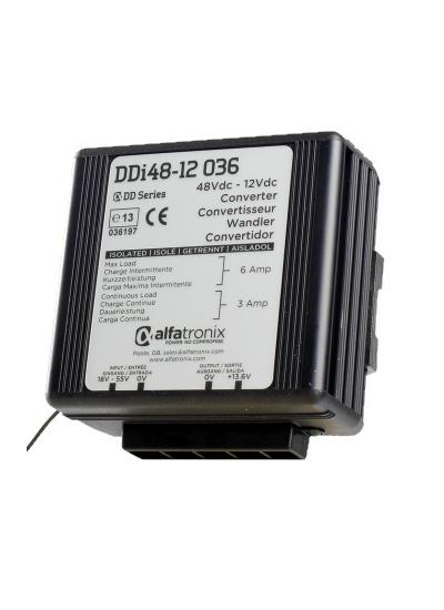 Alfatronix 48 VDC tot 12 VDC Power Converter ge
