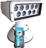 "Sanshin 7x3 "" Wireless Control LED Cabin Searchlight (12 - 24 VDC / 38 W) with lamp, remote control panel and cable"