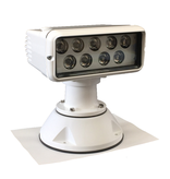 """Sanshin 7x3 """"LED-Kabinen-Suchscheinwerfer für drahtlose Steuerung (12 - 24 VDC / 38 W) mit Lampe, Fernbedienung und Kabel"""