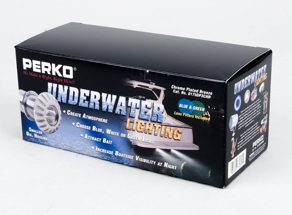 Perko Underwater Light - Space Safer Thru-Hull Mount (Gloeilamp)