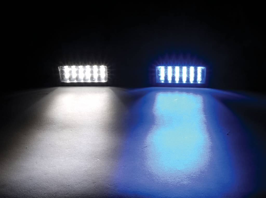 Perko Underwater Light - LED Surface Mount for Trim Tabs
