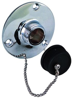 Perko Water Outlet Fitting with Cap