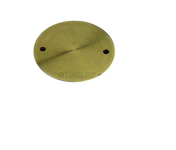 """Perko Spare Cap alleen voor dekplaat (3 """"tot 6"""", Plain Bronze of verchroomd)"""