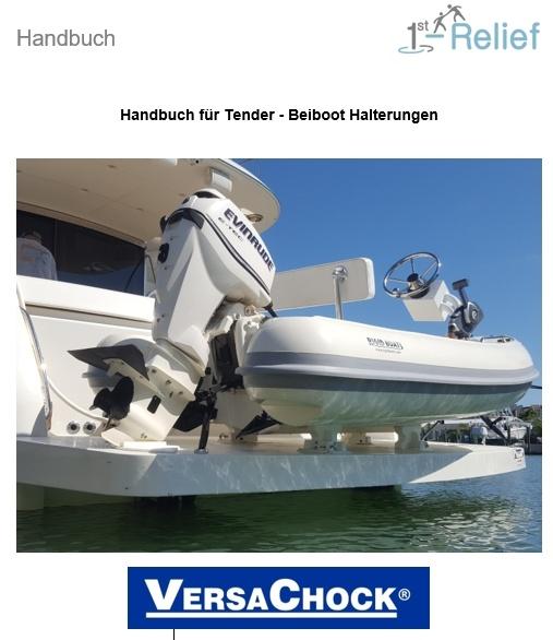 Handbuch Tender Beiboot Halterung