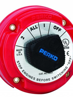 Perko Mittlerer Batterie-Umschalter