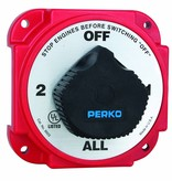 Perko Heavy Battery Selector Switch with Alternator Field Disconnect (AFD)