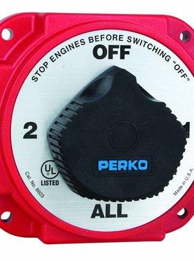 Perko Interruptor selector de la batería pesada con AFD