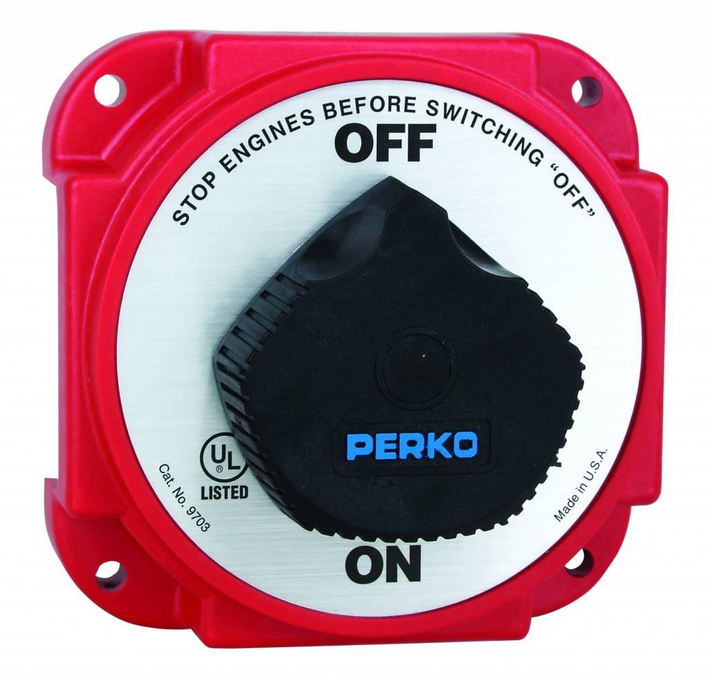 Perko Pesante batteria principale Interruttore di scollegamento con alternatore campo Disconnect (AFD)