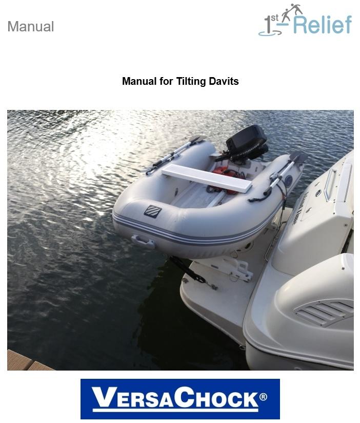 Manual Tilting Davit