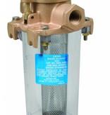 Perko Leightweight filtro de agua de admisión con Clear Body