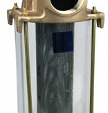 Perko Großer Einlasswasserfilter - transparenten Zylinder