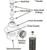 Perko Einlasswasserfilter mit Spülanschluss -  Ersatzdichtungssatz (1 Deckeldichtung und 2 Zylinderdichtungen)