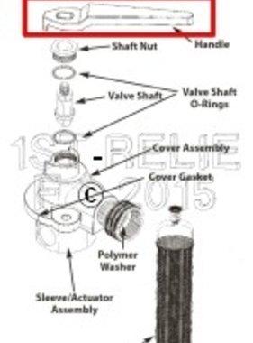 Perko Freshwater Flushing Filtro - Maniglia di ricambio