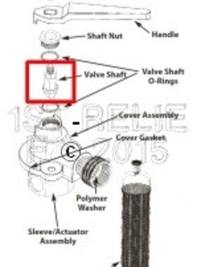 Perko Freshwater Flushing Filtro - Spare Valve Shaft
