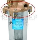 Perko Lichtgewicht Intake Water Filter - Spare Top Casting