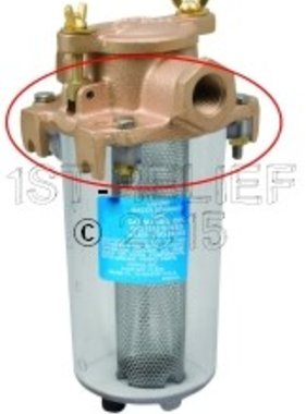 Perko Leightweight Intake Water Strainer - Spare Top Casting