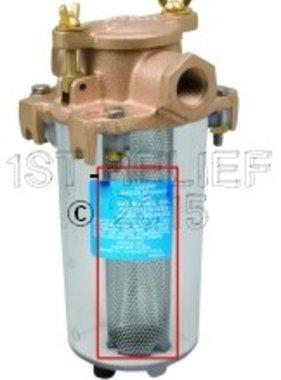 Perko Kompakter Einlasswasserfilter - Edelstahl Filterkorb