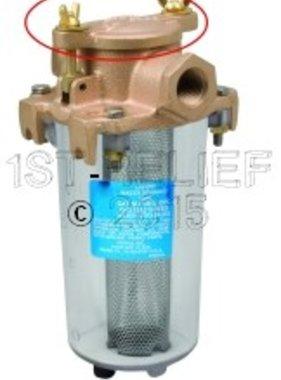 Perko Leightweight aspirazione Filtro acqua - Coperchio di ricambio con guarnizione