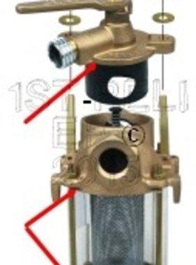 Perko Freshwater Flushing Filtro - Guarnizione di ricambio Kit