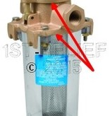 Perko Leightweight filtro de agua de admisión - Kit de juntas de repuesto (1 tapa de la Cabeza y 1 Cilindro Juntas)