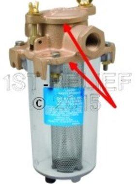 Perko Kompakter Einlasswasserfilter - Ersatzdichtungssatz