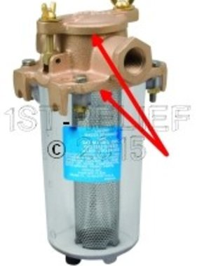 Perko Lichtgewicht Intake Water Filter - Reserve pakking Kit