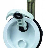 """Perko """"T"""" - handle surface mount latch white all cam bar options"""