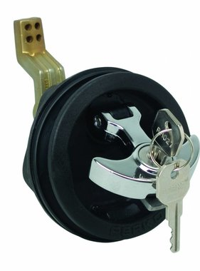 "Perko ""T"" - handvat surface mount buiten lock"