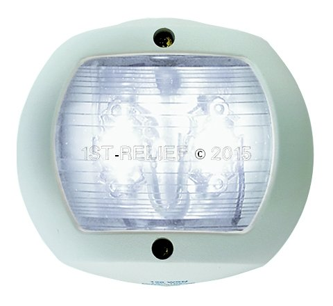 Perko LED Navigation Light for vertical mount - Stern Light (White)