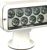 Sanshin Prima LED Searchlight (12 a 24 VDC) con lámpara, panel de control remoto y cable
