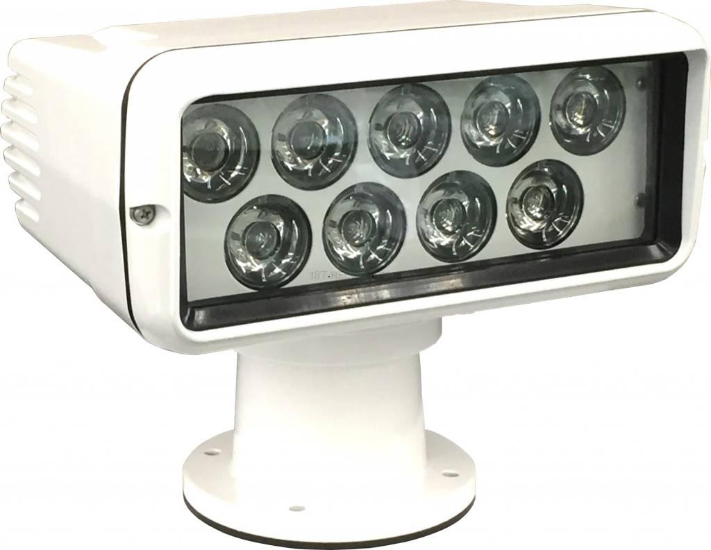 Sanshin Premium LED Zoeklicht (12 tot 24 VDC) met lamp, bedieningspaneel en kabel
