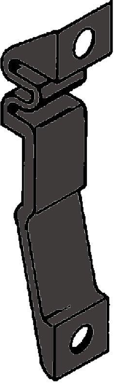 Perko Flush Klink (Non-Locking), pallen geven de open of dichte positie