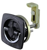 Perko Flush Latch (Non-Locking), detents indicate the open or close position