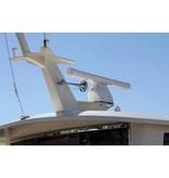 Kahlenberg S-0A Ship Horn, Single Trompet, White Powder Coat of Chrome Finish