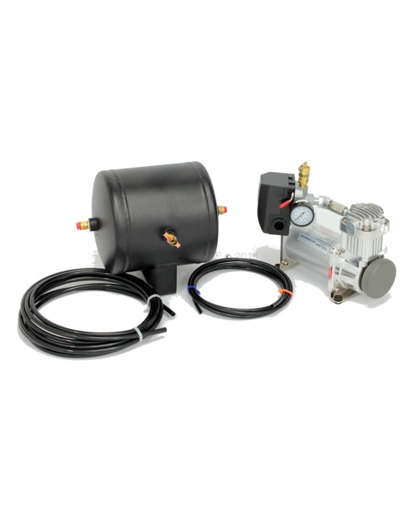 Kahlenberg Compressor / Tank Kit, P449-18, 24 VDC Voor S-0A en D-0A Marine Air Horns. Inclusief Extra beslag voor K-serie compatibiliteit